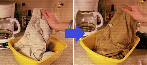 Как красить в домашних условиях вещи из хлопка
